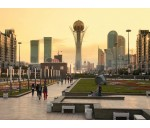 Two capitals of Kazakhstan