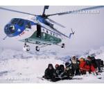 Heliski (heliskiing), heliboarding in Uzbekistan