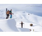 Ski tours, back country, free ride in Uzbekistan